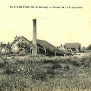 Château-Porcien (08) Ruines de la Briqueterie CPA