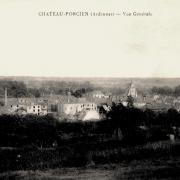 Château-Porcien (08) Vue générale CPA