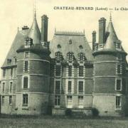 Château-Renard (45) Château de la Motte CPA