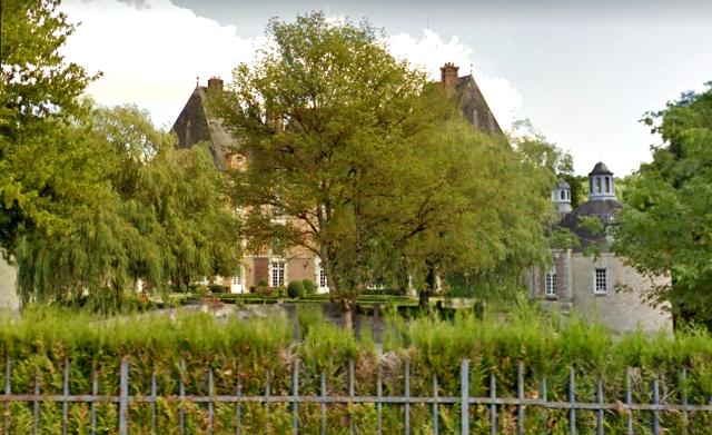 Château-Renard (45) Château de la Motte