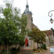 Château-Renard (45) Eglise Saint-Etienne