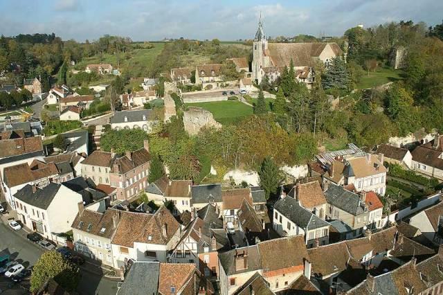 Château-Renard (45) Vue générale