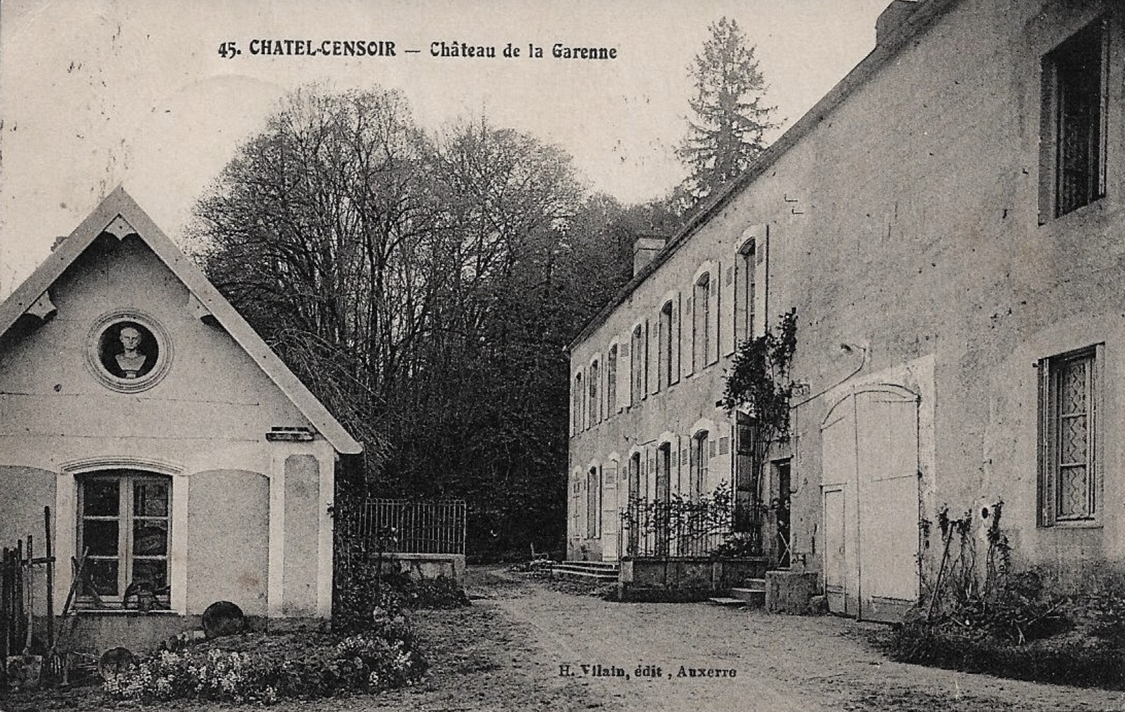 Châtel-Censoir (89) La Garenne CPA