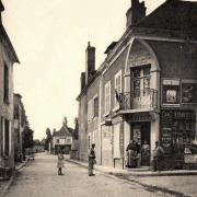Châtel-Censoir (89) La Grande Rue CPA
