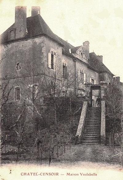 Châtel-Censoir (89) La Maison de Vaulabelle CPA