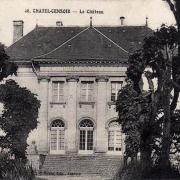 Châtel-Censoir (89) Le château CPA
