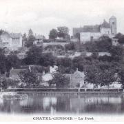 Châtel-Censoir (89) Le Port CPA