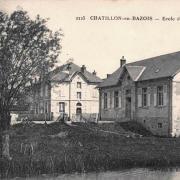 Châtillon-en-Bazois (Nièvre) L'école de garçons CPA