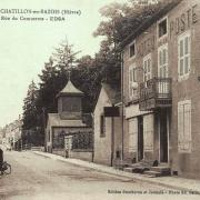 Châtillon-en-Bazois (Nièvre) L'Hôtel de la Poste CPA
