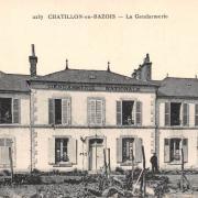 Châtillon-en-Bazois (Nièvre) La Gendarmerie CPA