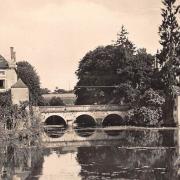 Châtillon-en-Bazois (Nièvre) Le pont CPA