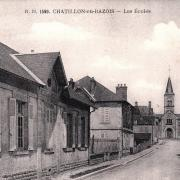 Châtillon-en-Bazois (Nièvre) Les écoles CPA