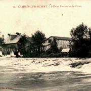 Chauvency-Saint-Hubert (Meuse) L'usine CPA