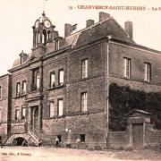 Chauvency-Saint-Hubert (Meuse) La mairie CPA