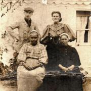 Louise Rose Chéneau et sa soeur Georgette