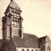 Chézy-sur-Marne (Aisne) CPA l'église Saint Martin