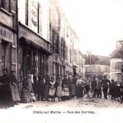 Chézy-sur-Marne (Aisne) CPA Rue des Carmes
