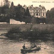 Chézy-sur-Marne (Aisne) CPA Château de l'abbaye Saint Pierre