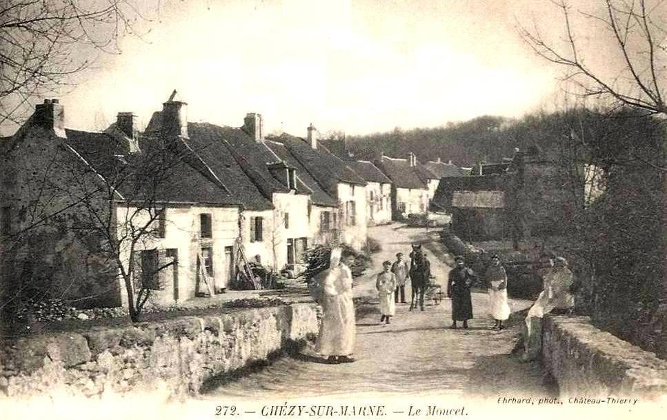 Chézy-sur-Marne (Aisne) CPA Le Moncet
