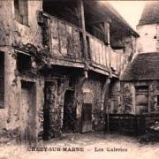 Chézy-sur-Marne (Aisne) CPA Les galeries