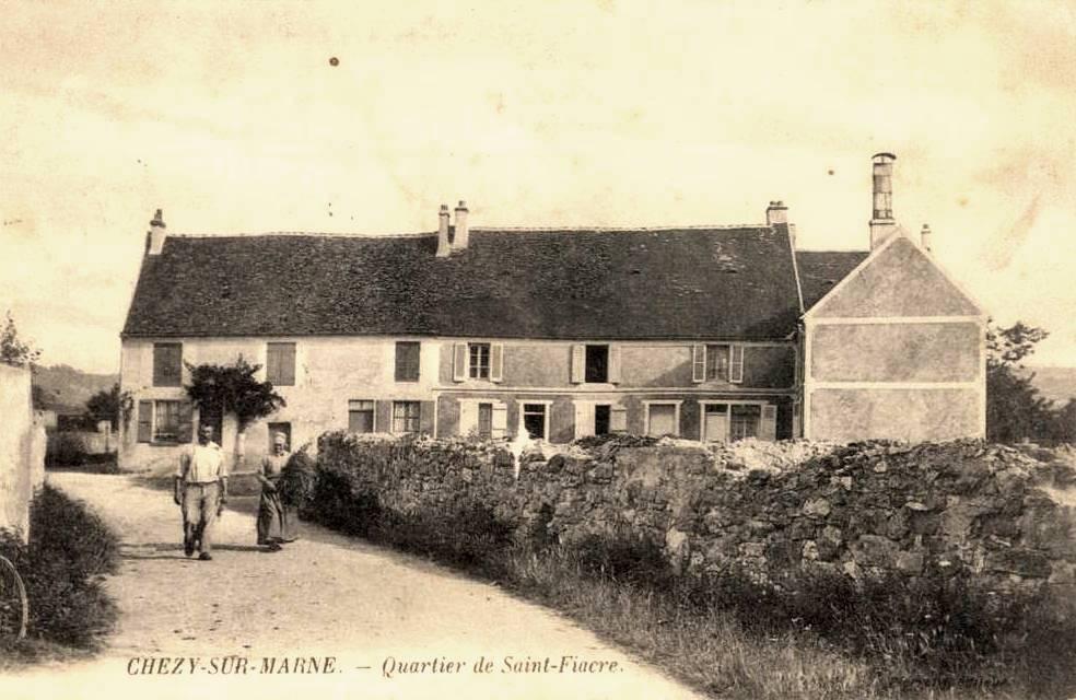 Chézy-sur-Marne (Aisne) CPA Quartier Saint Fiacre