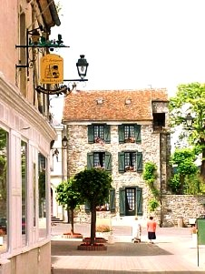 Chézy-sur-Marne (Aisne) Rue principale