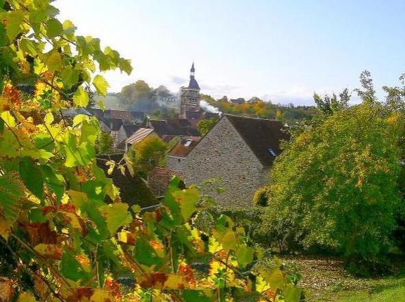 Chézy-sur-Marne (Aisne) Vue générale