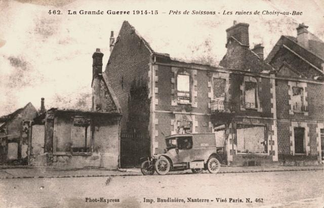 Choisy au bac 60 1914 1918 cpa