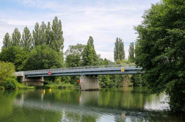 Choisy au bac 60 francport le pont reconstruit en 2017