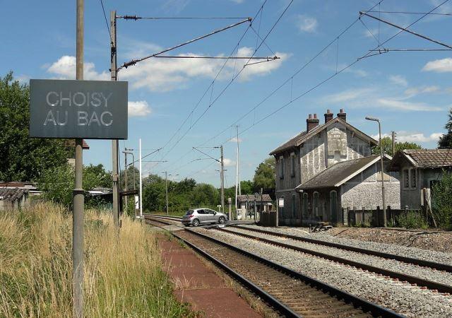 Choisy au bac 60 l ancienne gare