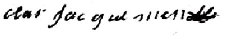 Claire Jacquemin (1697/1763) épouse Henry Frenois