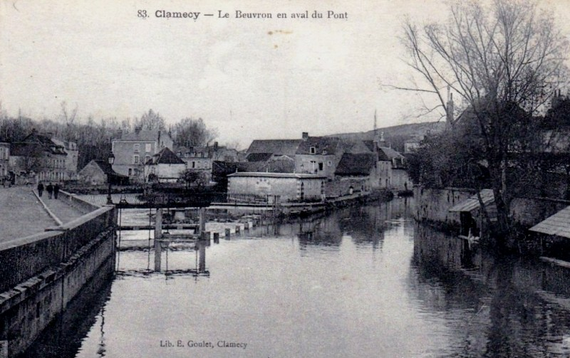 Clamecy (Nièvre) Le Beuvron CPA