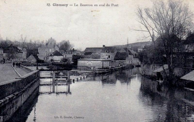 Clamecy (Nièvre) Le Beuvron CPA
