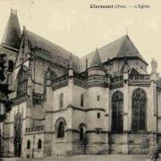 Clermont oise cpa l eglise saint samson
