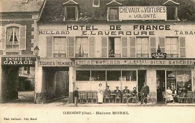 Clermont oise cpa l hotel de france