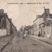 Clermont oise cpa la gendarmerie rue de paris