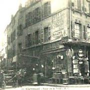 Clermont oise cpa le bazar de la poste