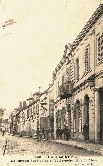 Clermont oise cpa le bureau de poste
