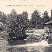 Clermont oise cpa le deversoir