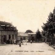 Clermont oise cpa le magasin de l asile