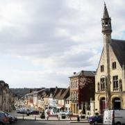 Clermont oise la place de l hotel de ville