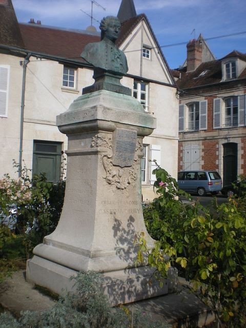 Clermont oise stele de cesar francois cassini