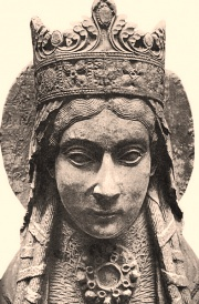 Clotilde, statue XIIe