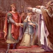 Clovis Ier, mariage avec Clotilde