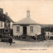 Condé-en-Brie (Aisne) CPA La mairie