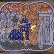 Constance d'Arles et son époux Robert II dit le Pieux