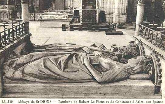 Constance d'Arles, gisants de Saint-Denis