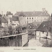 Corbigny (Nièvre) L'abbaye CPA