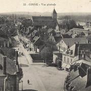 Cosne-Cours-sur-Loire (Nièvre) Vue générale CPA