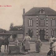 Courboin (Aisne) La mairie